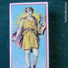 Cajas de Cerillas: CAJA DE CERILLAS FOSFOROS REPRODUCIÓN ETIQUETA SIGLO XIX BIEN CONSERVADA. Lote 151354678