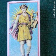 Cajas de Cerillas: CAJA DE CERILLAS FOSFOROS REPRODUCIÓN ETIQUETA SIGLO XIX BIEN CONSERVADA. Lote 151354694