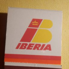 Cajas de Cerillas: CAJA DE CERILLAS - IBERIA - LINEAS AEREAS DE ESPAÑA - COMPLETA. Lote 151463678