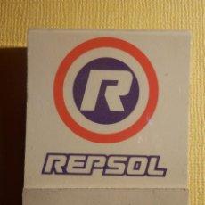 Cajas de Cerillas: CAJA DE CERILLAS - REPSOL - ACEITE MOTOR - COMPLETA. Lote 151463686