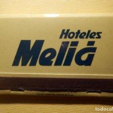 Cajas de Cerillas: CAJA DE CERILLAS - HOTELES MELIA - 40 FÓSFOROS - COMPLETA. Lote 151463694