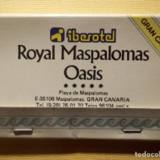 Cajas de Cerillas: CAJA DE CERILLAS - IBEROTEL - ROYAL MASPALOMAS OASIS - GRAN CANARIA - 40 FÓSFOROS - COMPLETA. Lote 151463698
