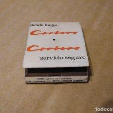 Cajas de Cerillas: CARTERITA CAJA DE CERILLAS CORBERÓ LE FALTAN CERILLAS. Lote 151959638