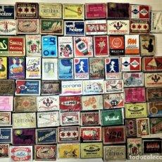 Cajas de Cerillas: ENORME LOTE CAJAS DE CERILLAS DE LOS AÑOS 50. Lote 152162890
