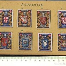 Cajas de Cerillas: FOSFOROS CONJUNTO CAJAS CERILLAS TOTAL 48 UNIDADES . Lote 152186778