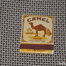 Cajas de Cerillas: CAJA CERILLAS COMPLETA CAMEL. Lote 152331602