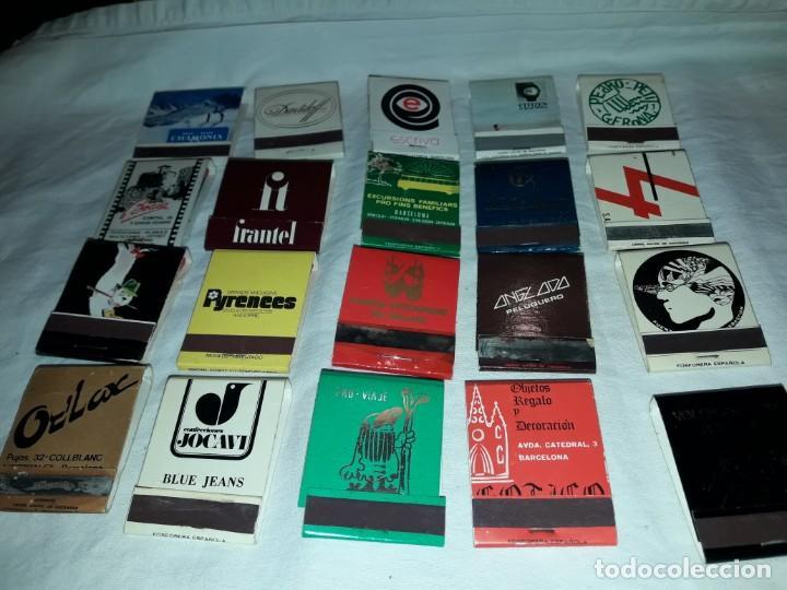 LOTE DE 20 CAJAS DE CERILLAS PUBLICIDAD (Coleccionismo - Objetos para Fumar - Cajas de Cerillas)
