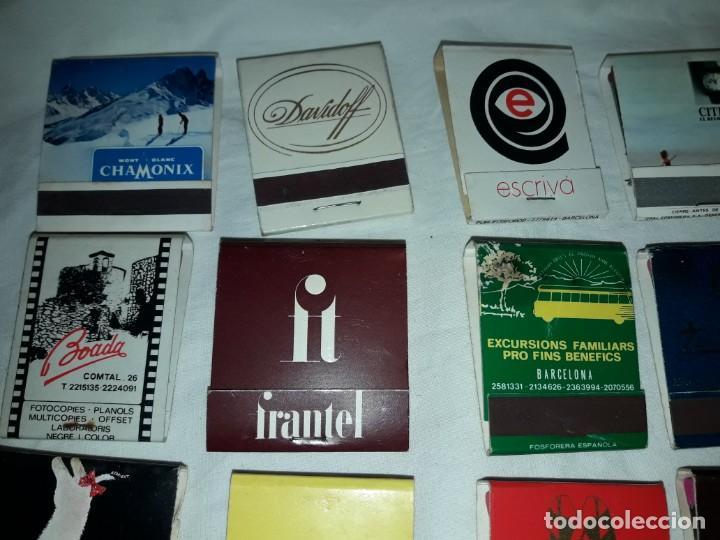 Cajas de Cerillas: Lote de 20 cajas de cerillas publicidad - Foto 2 - 152364350