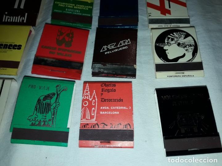 Cajas de Cerillas: Lote de 20 cajas de cerillas publicidad - Foto 4 - 152364350