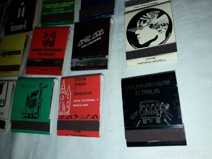 Cajas de Cerillas: Lote de 20 cajas de cerillas publicidad - Foto 5 - 152364350