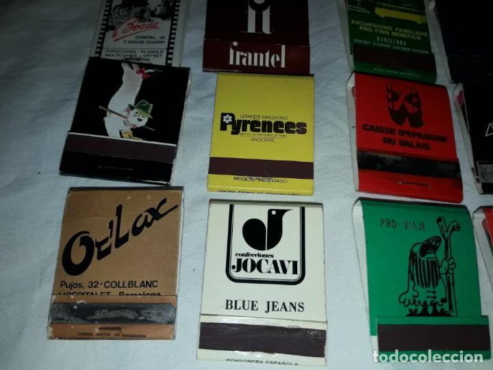 Cajas de Cerillas: Lote de 20 cajas de cerillas publicidad - Foto 6 - 152364350