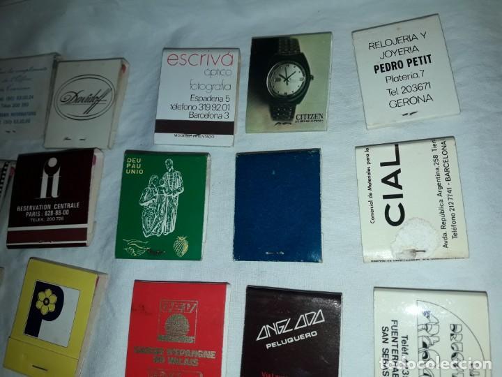 Cajas de Cerillas: Lote de 20 cajas de cerillas publicidad - Foto 8 - 152364350