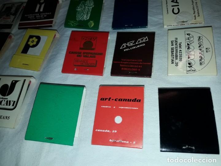 Cajas de Cerillas: Lote de 20 cajas de cerillas publicidad - Foto 9 - 152364350