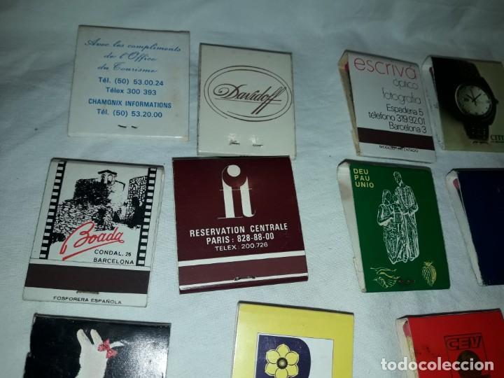 Cajas de Cerillas: Lote de 20 cajas de cerillas publicidad - Foto 10 - 152364350