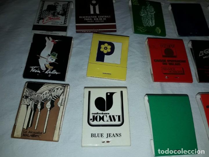 Cajas de Cerillas: Lote de 20 cajas de cerillas publicidad - Foto 11 - 152364350