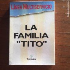 Cajas de Cerillas: CERILLAS TELEFÓNICA CASA TITO. Lote 152807312