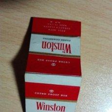 Cajas de Cerillas: CAJA CERILLAS VACIA - WINSTON TABACO. Lote 153271670