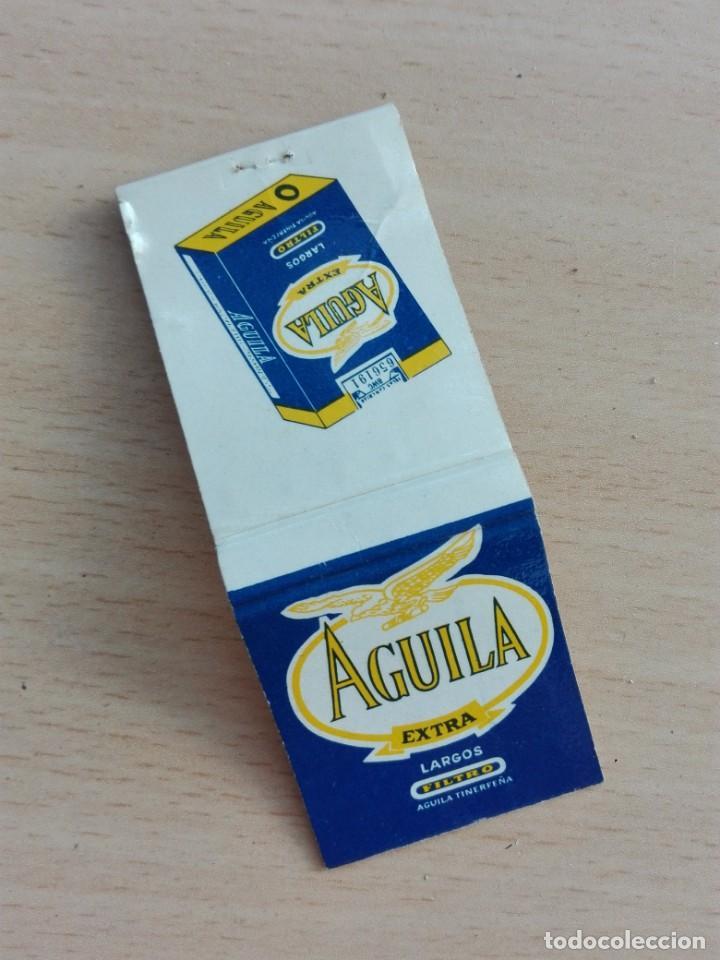 CAJA CERILLAS VACIA - AGUILA EXTRA - TABACO AVE (Coleccionismo - Objetos para Fumar - Cajas de Cerillas)