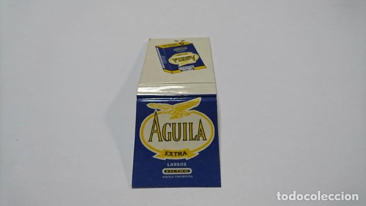 Cajas de Cerillas: CAJA DE CERILLAS TABACO AGUILA - Foto 2 - 153667298
