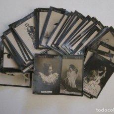 Cajas de Cerillas: ARTISTAS-SERIE 1ª 55 CROMOS COMPLETA-CROMOS CAJAS CERILLAS-VER FOTOS-(V-16.030). Lote 153703854