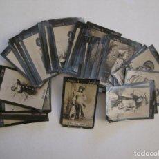 Cajas de Cerillas: ARTISTAS-SERIE 4ª 55 CROMOS COMPLETA-CROMOS CAJAS CERILLAS-VER FOTOS-(V-16.032). Lote 153704378