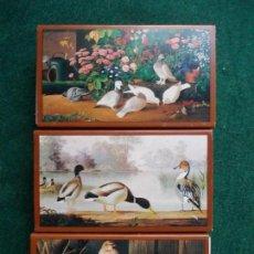 Cajas de Cerillas: LOTE DE 3 CAJAS DE CERILLAS FOSFOROS GRANDES PINTORES PINTURA . Lote 153800074
