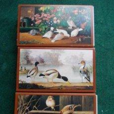 Cajas de Cerillas: LOTE DE 3 CAJAS DE CERILLAS FOSFOROS GRANDES PINTORES PINTURA . Lote 153800130