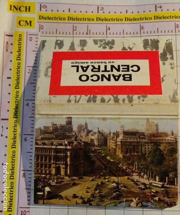 CAJA CAJETILLA DE CERILLAS DE BANCOS. BANCO CENTRAL POSTAL MADRID (Coleccionismo - Objetos para Fumar - Cajas de Cerillas)