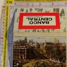 Cajas de Cerillas: CAJA CAJETILLA DE CERILLAS DE BANCOS. BANCO CENTRAL POSTAL MADRID. Lote 154445030