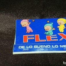 Cajas de Cerillas: CAJA DE CERILLAS PUBLICIDAD FLEX DE LO BUENO LO MEJOR . Lote 154551054