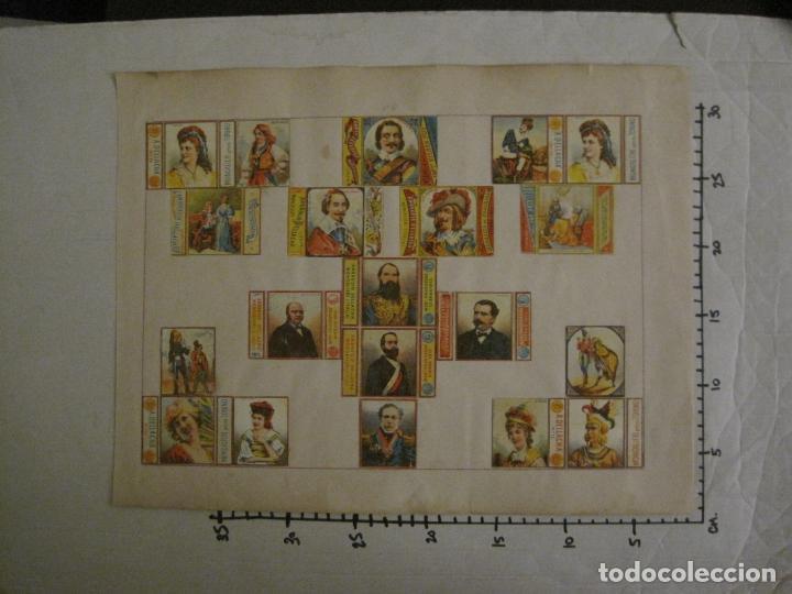 Cajas de Cerillas: CAJAS DE CERILLAS PEGADAS A HOJA-A.DELLACHA-MONCALIERI-TORINO-VER FOTOS-(CARPB-44) - Foto 8 - 155142906