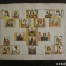 Cajas de Cerillas: CAJAS DE CERILLAS PEGADAS A HOJA-A.DELLACHA-MONCALIERI-TORINO-VER FOTOS-(CARPB-44). Lote 155142906