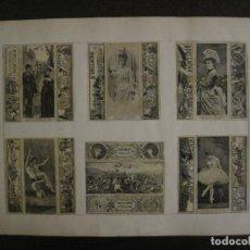 Cajas de Cerillas: CAJAS DE CERILLAS PEGADAS A HOJA-DELLACHA-MONCALIERI-VIENNA-VER FOTOS-(CARPB-45). Lote 155143390