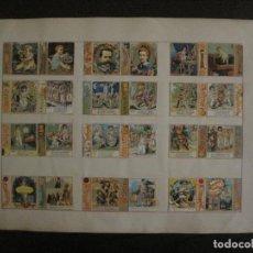 Cajas de Cerillas: CAJAS DE CERILLAS PEGADAS A HOJA-DELLACHA-MONCALIERI-TORINO-VER FOTOS-(CARPB-49). Lote 155144438