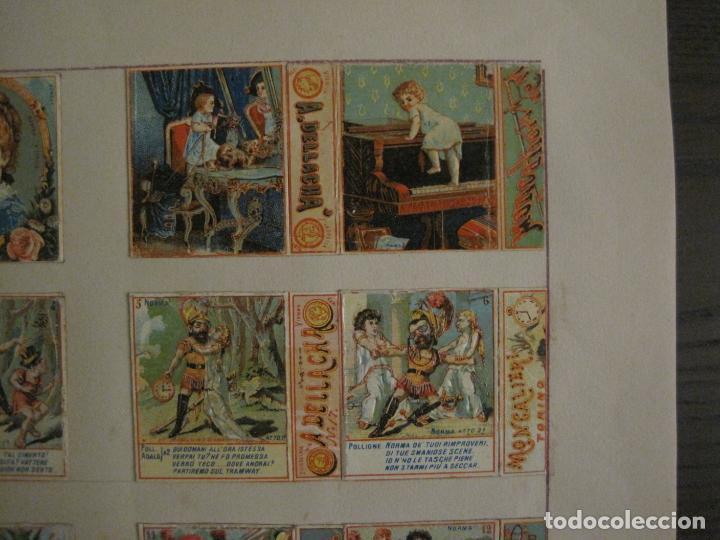 Cajas de Cerillas: CAJAS DE CERILLAS PEGADAS A HOJA-DELLACHA-MONCALIERI-TORINO-VER FOTOS-(CARPB-49) - Foto 4 - 155144438