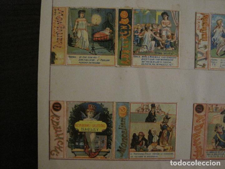 Cajas de Cerillas: CAJAS DE CERILLAS PEGADAS A HOJA-DELLACHA-MONCALIERI-TORINO-VER FOTOS-(CARPB-49) - Foto 5 - 155144438
