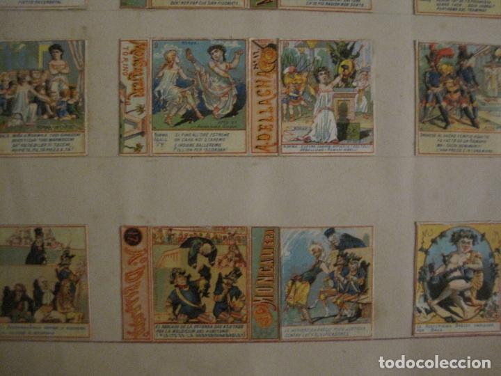 Cajas de Cerillas: CAJAS DE CERILLAS PEGADAS A HOJA-DELLACHA-MONCALIERI-TORINO-VER FOTOS-(CARPB-49) - Foto 6 - 155144438