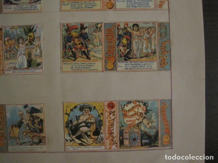 Cajas de Cerillas: CAJAS DE CERILLAS PEGADAS A HOJA-DELLACHA-MONCALIERI-TORINO-VER FOTOS-(CARPB-49) - Foto 7 - 155144438