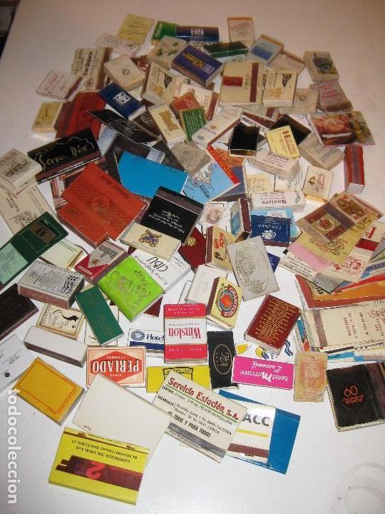 COLECCION DE ANTIGUAS CAJAS DE CERILLAS LLENAS (Coleccionismo - Objetos para Fumar - Cajas de Cerillas)