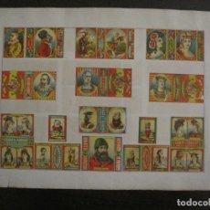 Cajas de Cerillas: CAJAS DE CERILLAS PEGADAS A HOJA-ESPAÑA-GARAY Y ARREGUI-OÑATE-GIPUZCOA-VER FOTOS-(CARPB-52). Lote 155661366