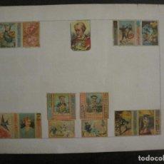 Cajas de Cerillas: CAJAS DE CERILLAS PEGADAS A HOJA-ESPAÑA-GARAY Y ARREGUI-OÑATE-VER FOTOS-(CARPB-59). Lote 155668726