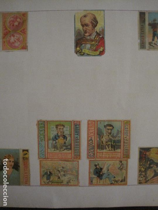 Cajas de Cerillas: CAJAS DE CERILLAS PEGADAS A HOJA-ESPAÑA-GARAY Y ARREGUI-OÑATE-VER FOTOS-(CARPB-59) - Foto 12 - 155668726