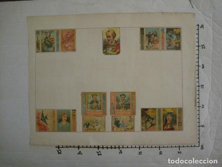 Cajas de Cerillas: CAJAS DE CERILLAS PEGADAS A HOJA-ESPAÑA-GARAY Y ARREGUI-OÑATE-VER FOTOS-(CARPB-59) - Foto 16 - 155668726