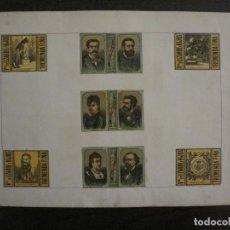 Cajas de Cerillas: CAJAS DE CERILLAS PEGADAS A HOJA-ESPAÑA-VDA LIZARBE E HIJOS-TARAZONA-VER FOTOS-(CARPB-62). Lote 155669946