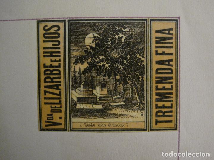 Cajas de Cerillas: CAJAS DE CERILLAS PEGADAS A HOJA-ESPAÑA-VDA LIZARBE E HIJOS-TARAZONA-VER FOTOS-(CARPB-62) - Foto 4 - 155669946