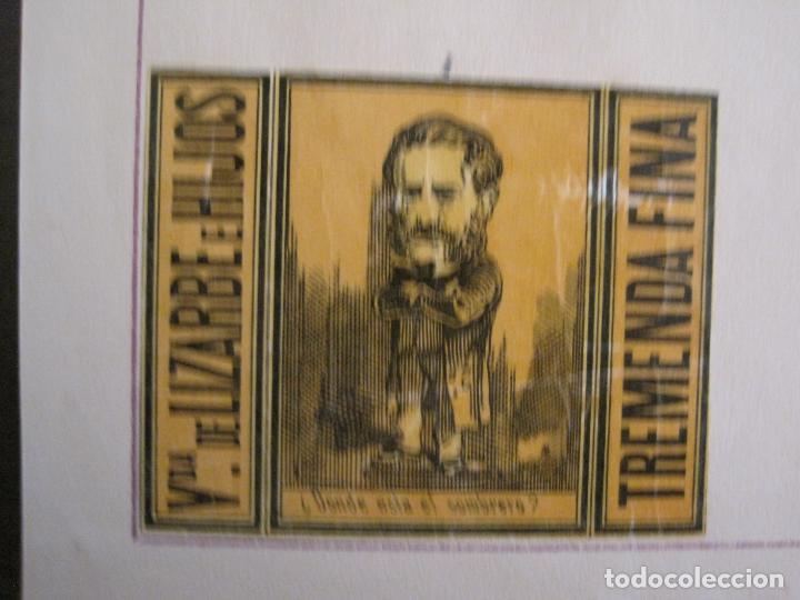 Cajas de Cerillas: CAJAS DE CERILLAS PEGADAS A HOJA-ESPAÑA-VDA LIZARBE E HIJOS-TARAZONA-VER FOTOS-(CARPB-62) - Foto 6 - 155669946