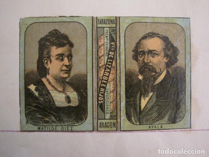 Cajas de Cerillas: CAJAS DE CERILLAS PEGADAS A HOJA-ESPAÑA-VDA LIZARBE E HIJOS-TARAZONA-VER FOTOS-(CARPB-62) - Foto 7 - 155669946