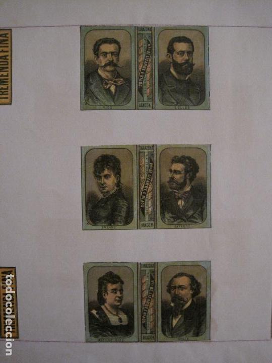 Cajas de Cerillas: CAJAS DE CERILLAS PEGADAS A HOJA-ESPAÑA-VDA LIZARBE E HIJOS-TARAZONA-VER FOTOS-(CARPB-62) - Foto 10 - 155669946