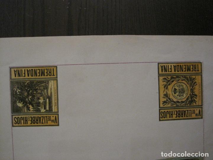Cajas de Cerillas: CAJAS DE CERILLAS PEGADAS A HOJA-ESPAÑA-VDA LIZARBE E HIJOS-TARAZONA-VER FOTOS-(CARPB-62) - Foto 11 - 155669946