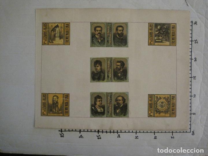 Cajas de Cerillas: CAJAS DE CERILLAS PEGADAS A HOJA-ESPAÑA-VDA LIZARBE E HIJOS-TARAZONA-VER FOTOS-(CARPB-62) - Foto 13 - 155669946